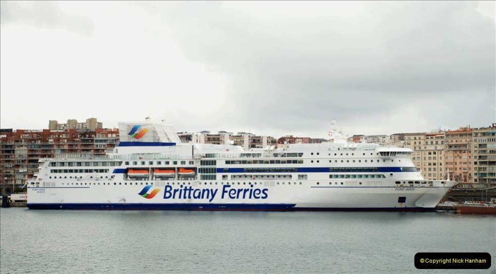 2019 June 28 to 05 July P&O MV Oriana France, Spain and Guernsey. (194) Santander, Spain. On our way to Ferrol. 194