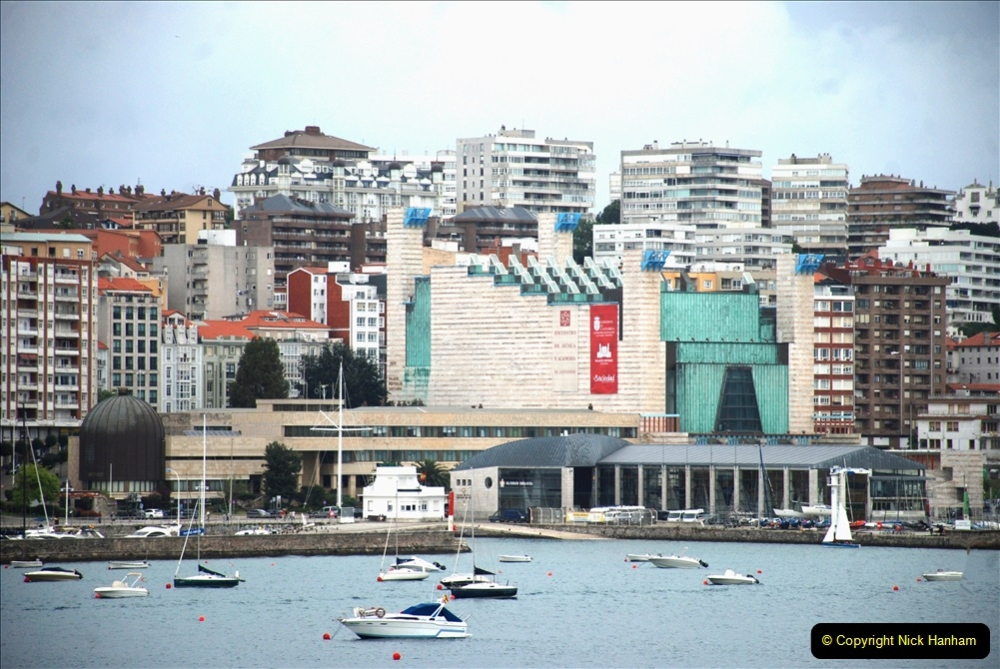 2019 June 28 to 05 July P&O MV Oriana France, Spain and Guernsey. (196) Santander, Spain. On our way to Ferrol. 196
