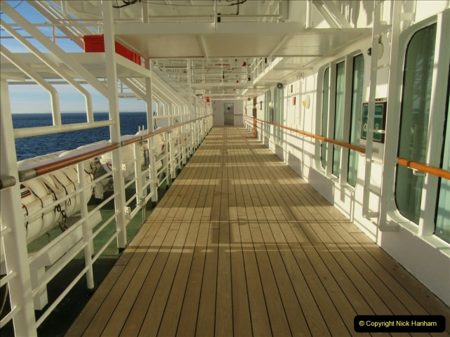 2019 June 28 to 05 July P&O MV Oriana France, Spain and Guernsey. (213) Santander, Spain. On our way to Ferrol. 213