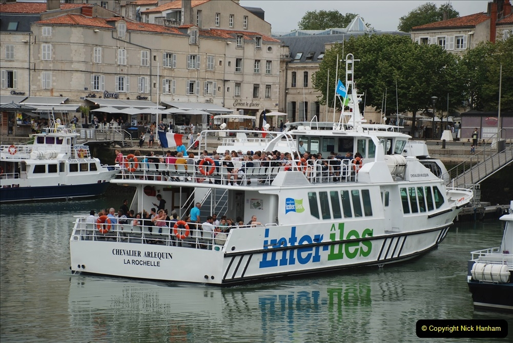 2019 June 28 to 05 July P&O MV Oriana France, Spain and Guernsey. (54) La Rochelle, France. 054