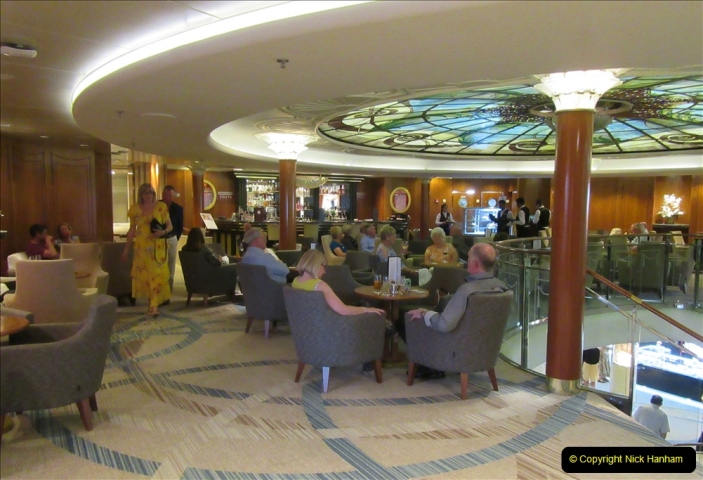 2019 June 28 to 05 July P&O MV Oriana France, Spain and Guernsey. (79) A look around the ship. 079