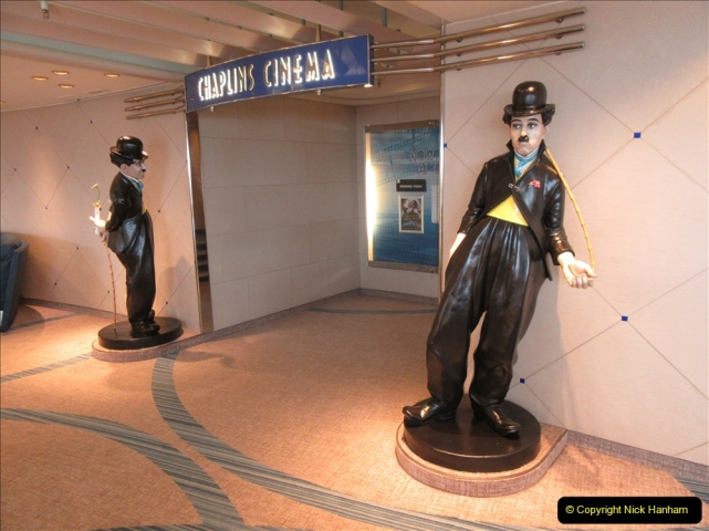 2019 June 28 to 05 July P&O MV Oriana France, Spain and Guernsey. (87) A look around the ship. 087