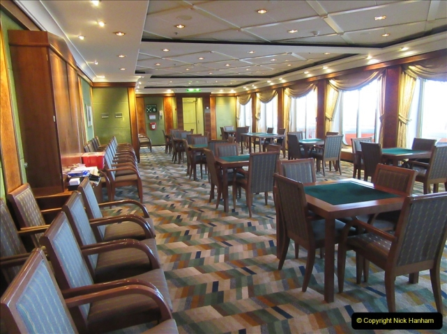 2019 June 28 to 05 July P&O MV Oriana France, Spain and Guernsey. (92) A look around the ship. 092