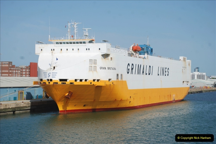 2019 June 28 to 05 July P&O MV Oriana France, Spain and Guernsey. (107) On the way. 107