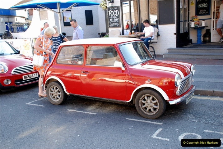 2019-07-12 Minis on Poole Quay. (2) 001