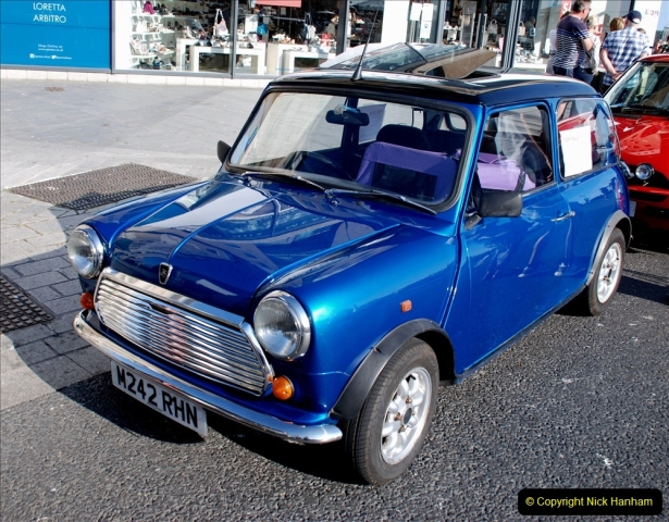 2019-07-12 Minis on Poole Quay. (8) 001