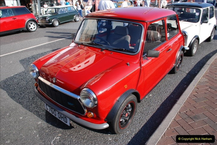 2019-07-12 Minis on Poole Quay. (11) 001