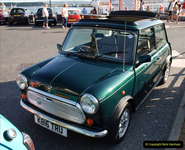 2019-07-12 Minis on Poole Quay. (19) 001