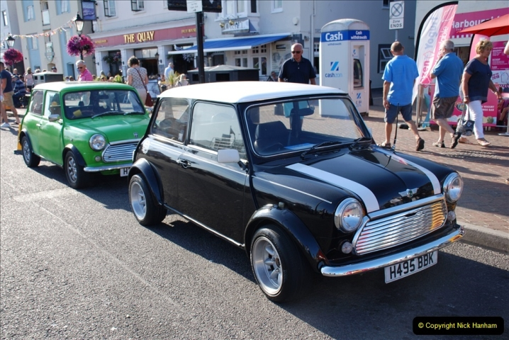 2019-07-12 Minis on Poole Quay. (23) 001
