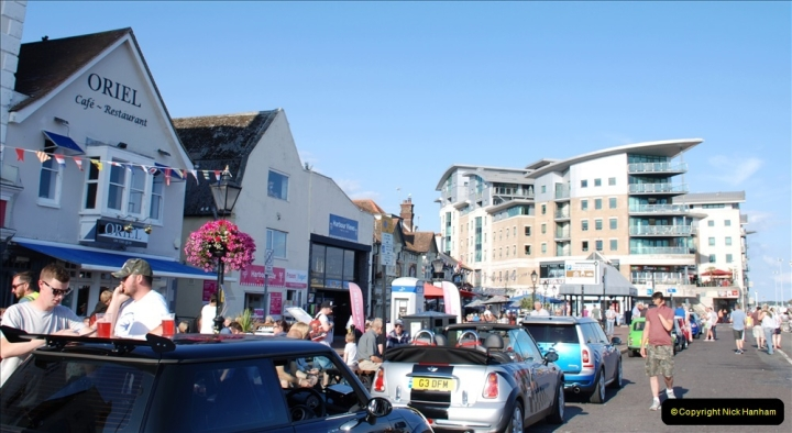 2019-07-12 Minis on Poole Quay. (26) 001