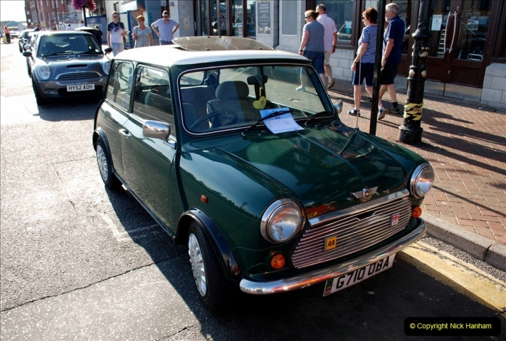 2019-07-12 Minis on Poole Quay. (39) 001
