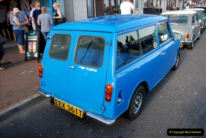 2019-07-12 Minis on Poole Quay. (46) 001