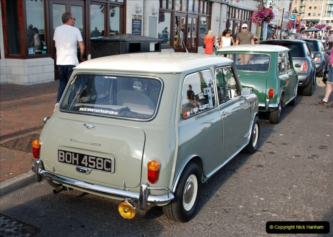 2019-07-12 Minis on Poole Quay. (47) 001