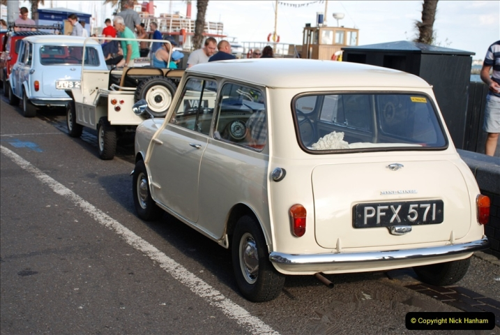 2019-07-12 Minis on Poole Quay. (49) 001