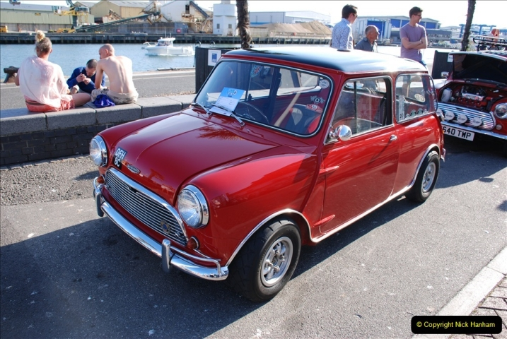 2019-07-12 Minis on Poole Quay. (61) 001