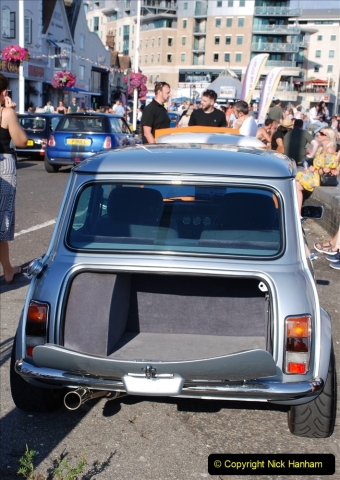2019-07-12 Minis on Poole Quay. (63) 001