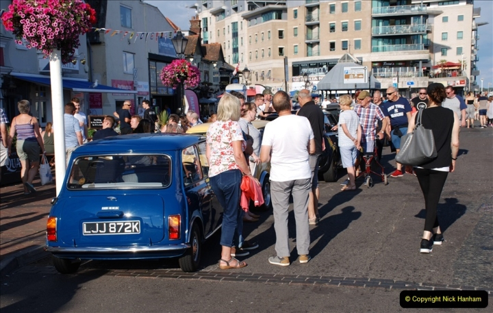 2019-07-12 Minis on Poole Quay. (68) 001