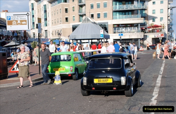 2019-07-12 Minis on Poole Quay. (69) 001