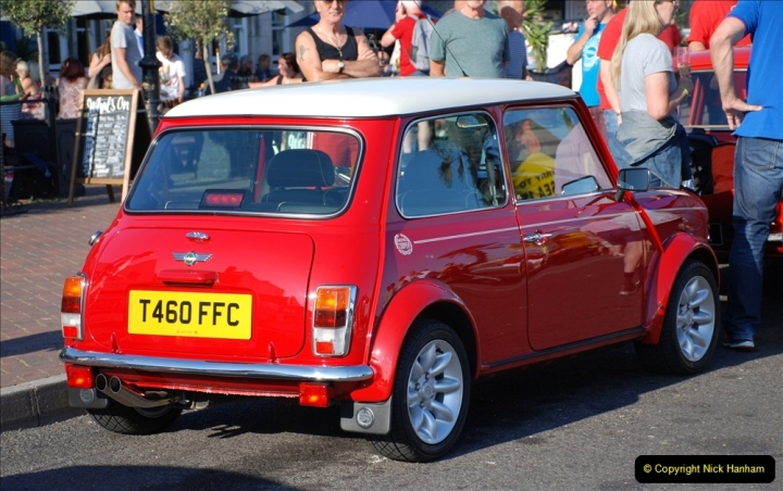 2019-07-12 Minis on Poole Quay. (71) 001