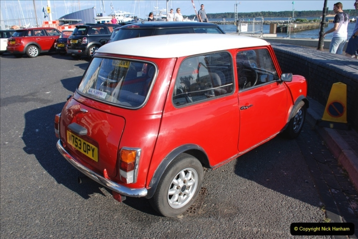 2019-07-12 Minis on Poole Quay. (73) 001