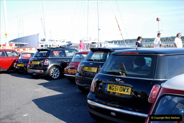 2019-07-12 Minis on Poole Quay. (74) 001