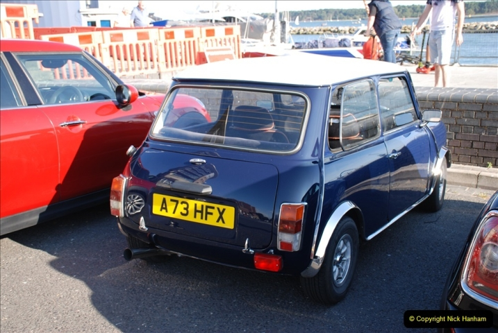 2019-07-12 Minis on Poole Quay. (76) 001