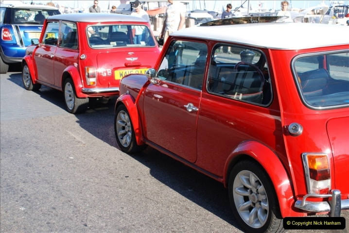 2019-07-12 Minis on Poole Quay. (78) 001