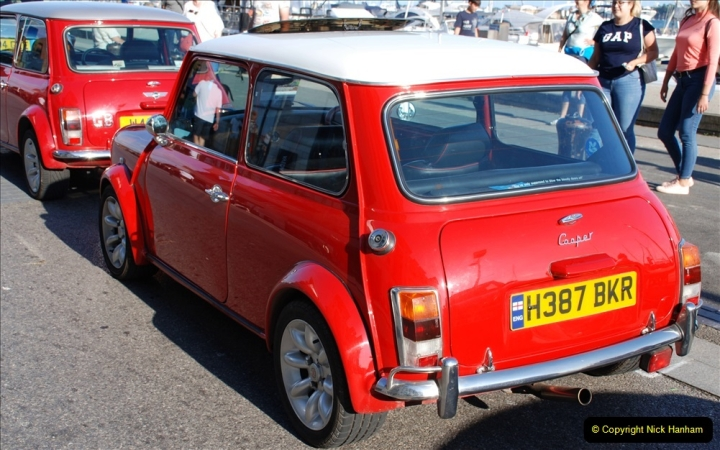2019-07-12 Minis on Poole Quay. (79) 001
