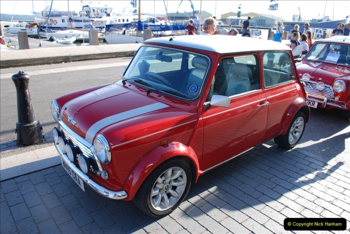 2019-07-12 Minis on Poole Quay. (81) 001