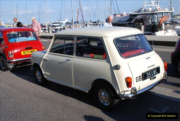 2019-07-12 Minis on Poole Quay. (85) 001