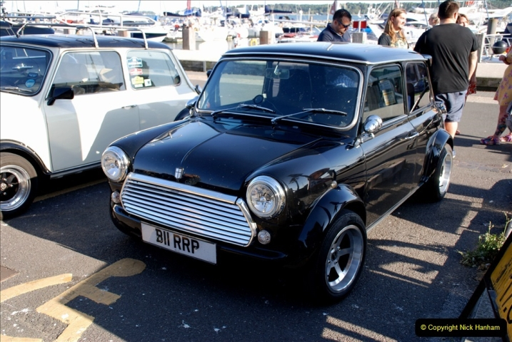 2019-07-12 Minis on Poole Quay. (89) 001