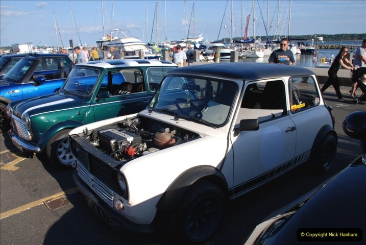 2019-07-12 Minis on Poole Quay. (90) 001