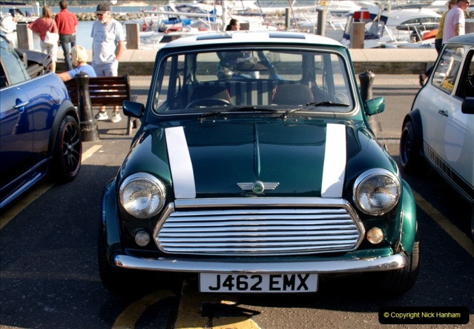 2019-07-12 Minis on Poole Quay. (92) 001