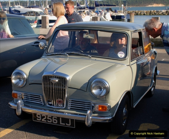2019-07-12 Minis on Poole Quay. (93) 001