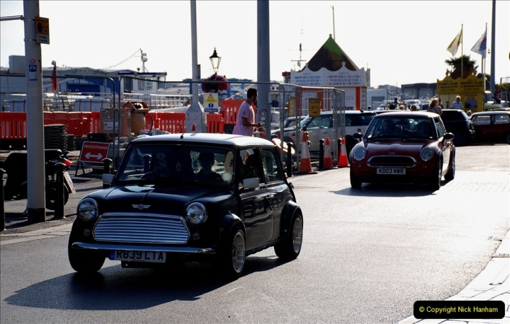 2019-07-12 Minis on Poole Quay. (101) 001