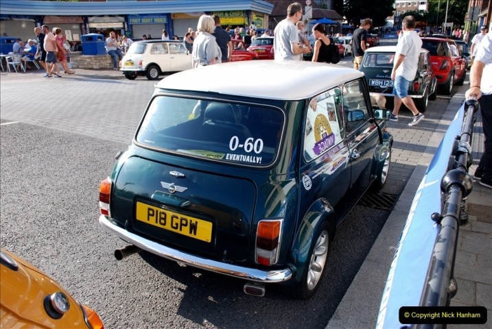 2019-07-12 Minis on Poole Quay. (103) 001