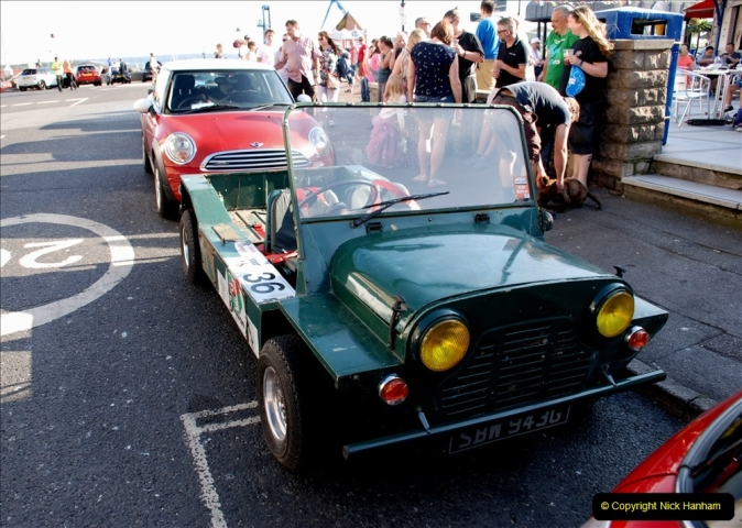 2019-07-12 Minis on Poole Quay. (109) 001