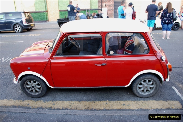 2019-07-12 Minis on Poole Quay. (110) 001