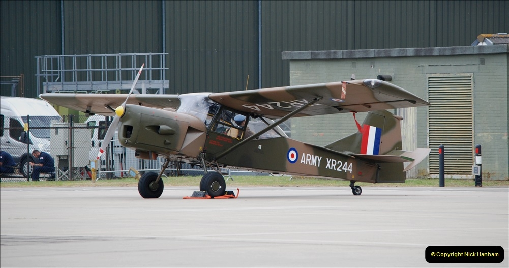 2019-07-13 Yeovilton Air Day. (181) Auster AOP9.