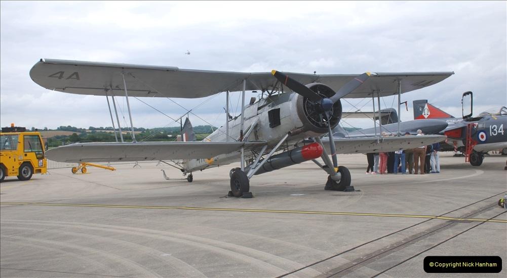 2019-07-13 Yeovilton Air Day. (272) Gloucester Gladiator.