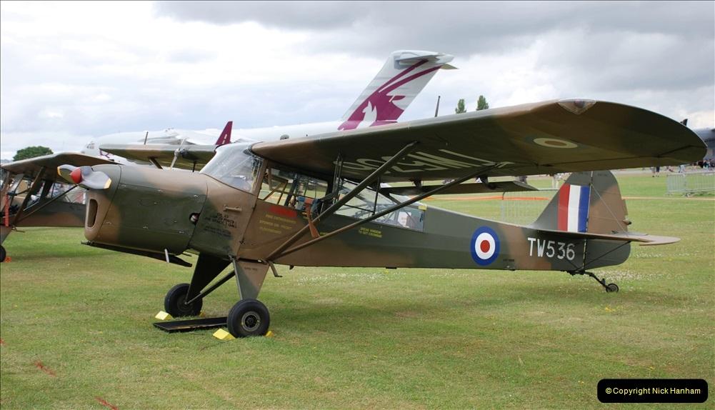 2019-07-13 Yeovilton Air Day. (276) Auster.