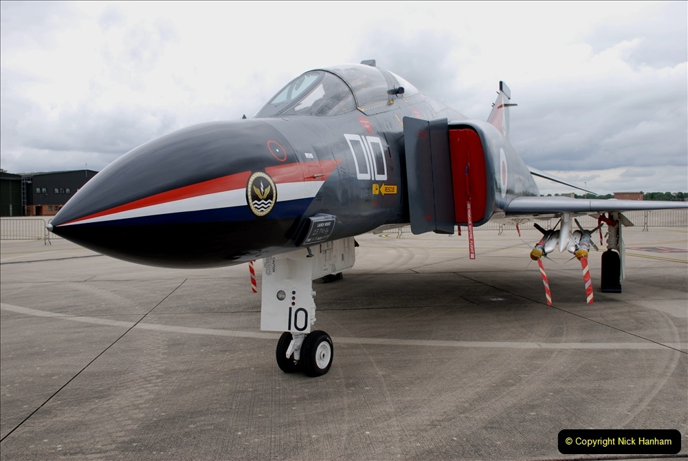 2019-07-13 Yeovilton Air Day. (283) McDonnel Douglas F-4 Phantom 4.