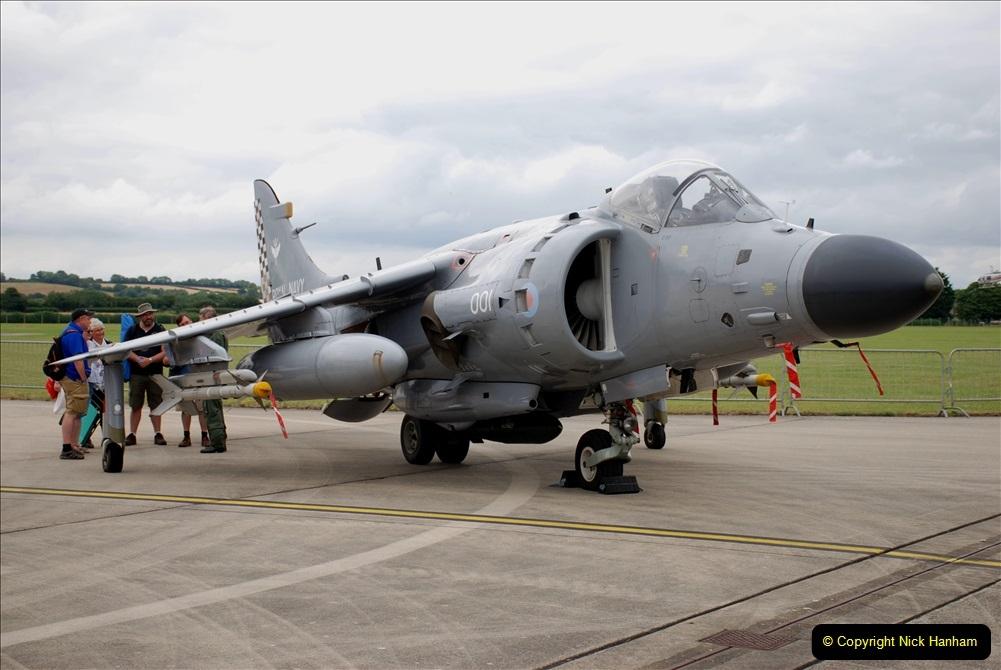 2019-07-13 Yeovilton Air Day. (287) Harrier Jump Jet.
