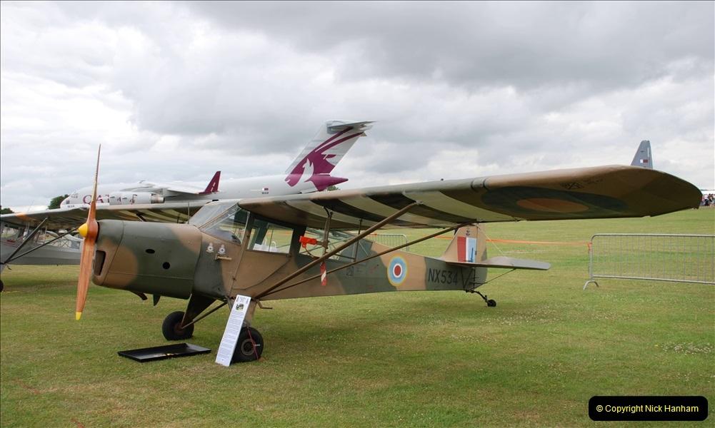 2019-07-13 Yeovilton Air Day. (289) Auster.