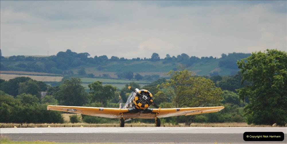 2019-07-13 Yeovilton Air Day. (404) AT-6 Harvard 11A.