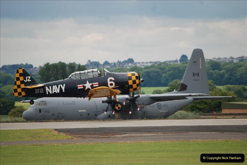 2019-07-13 Yeovilton Air Day. (409) AT-6 Harvard 11A.