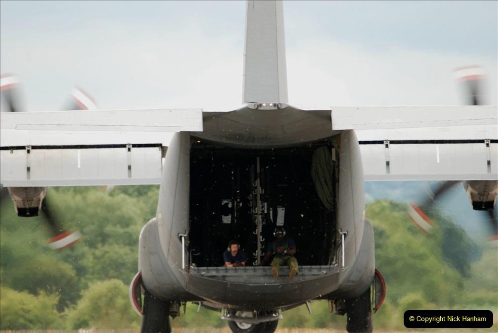 2019-07-13 Yeovilton Air Day. (431) Plane reversing along the runway.