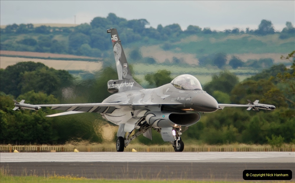 2019-07-13 Yeovilton Air Day. (490) F-16 Fighting Falcon.