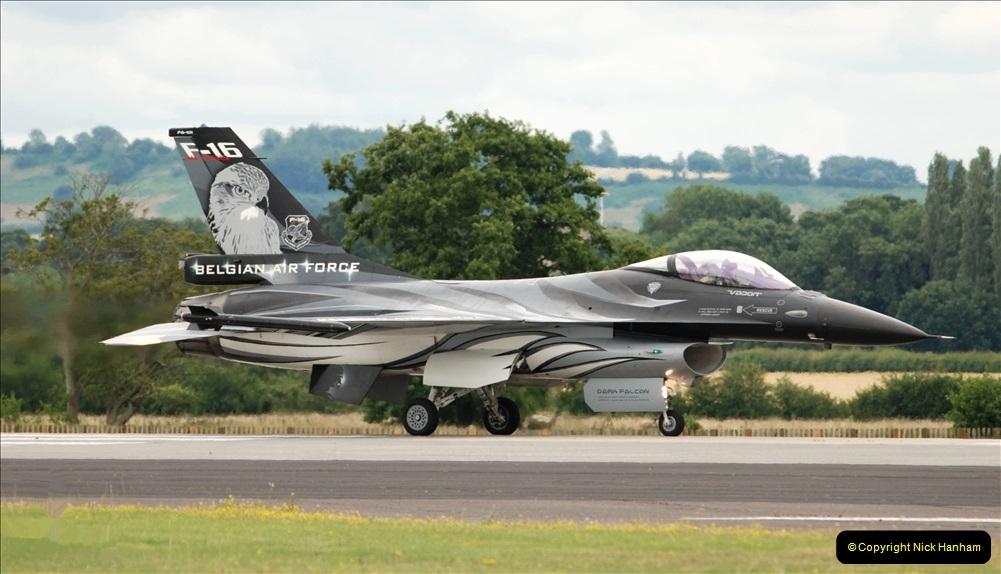2019-07-13 Yeovilton Air Day. (491) F-16 Fighting Falcon.