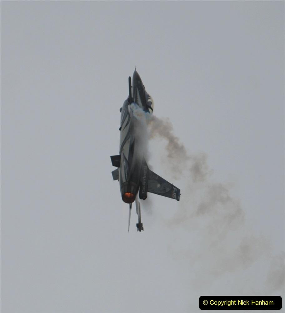 2019-07-13 Yeovilton Air Day. (497) F-16 Fighting Falcon.